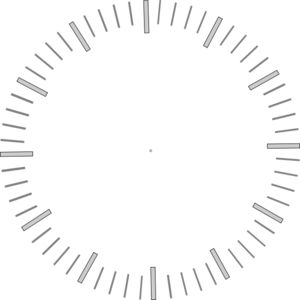 Printable Clock Face Without Hands Clock With Minute Ticks No