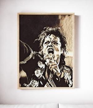 Michael Jackson Art Michaeljackson Painting Wallhanging
