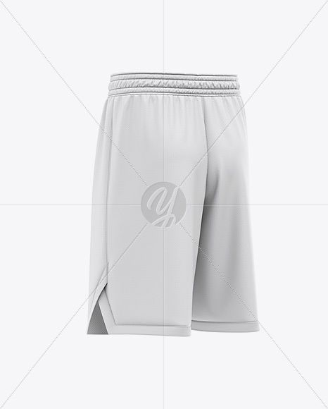 Download Men S Basketball Shorts Mockup Back Half Side View In Apparel Mockups On Yellow Images Object Mockups Clothing Mockup Basketball Shorts Basketball Uniforms Design