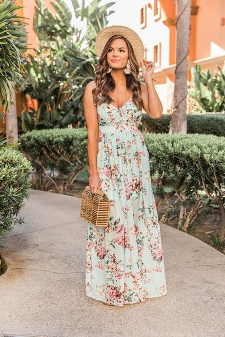 a8e8ffa965abf Heaven On Earth Maxi Dress Mint in 2019 | Spring/Summer 2019 Clothes ...