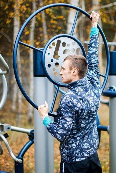 Zestaw 6- Koło obrotowe tai chi do ćwiczenia ramion