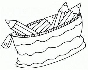Pencil Case Para Colorear Colores Dibujos Zentangle Art
