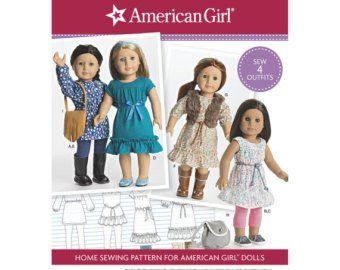 "Sailor Playsuit /& More Simplicity Pattern 1443 ~ 18/"" Doll Clothes ~ Dresses"