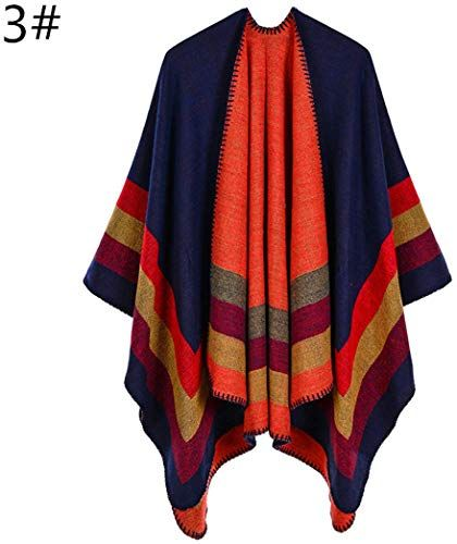 Vintage Flower Printed WomenS Scarf Women Winter Poncho Ladies Cashmere Scarf