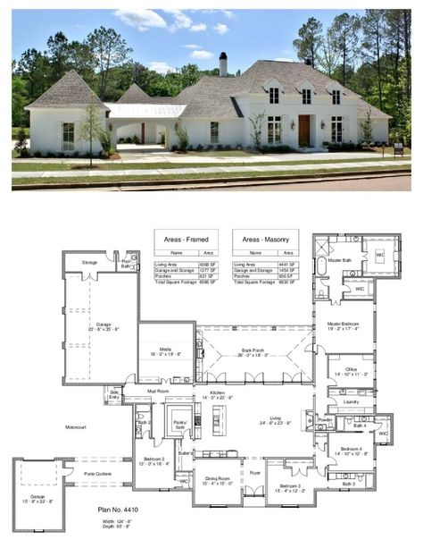 Trendy Kitchen Layout With Butlers Pantry Garage 51 Ideas French Country House Plans, Southern House Plans, Family House Plans, Modern Farmhouse Plans, New House Plans, Dream House Plans, Modern House Plans, Modern House Design, House Floor Plans
