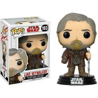 Funko Pop Star Wars 193 Luke Skywalker Box Not Mint In 2020 Funko Pop Star Wars Luke Skywalker Pop Luke Skywalker Funko Pop