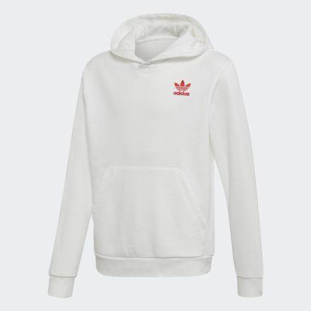 adidas v day hoodie white