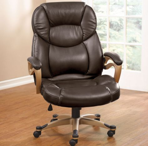 Plus Size Office Chairs Brown Colors
