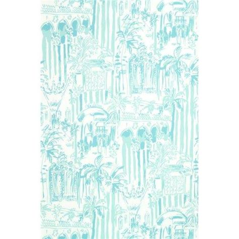 Lee Jofa La Via Loca Pool Blue Wallpaper - Trade - Lee Jofa La Via Loca Pool Blue Wallpaper / LA VIA LOCA / POOL BLUE