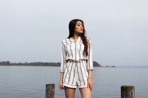 Blogger Thao Nhi Le from DAPHALE in our #marcopolodenim