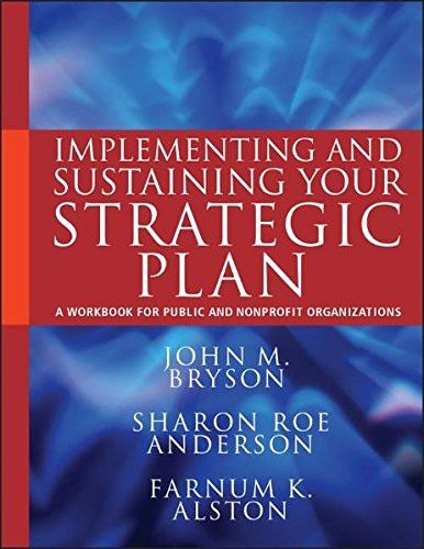 Creating and Implementing Your Strategic Plan A Workbook for - strategic plan