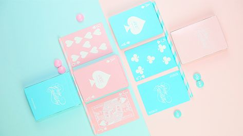 Playing Cards Pure Cardistry Pink