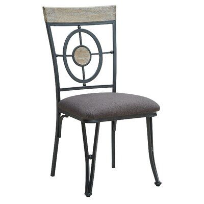 World Menagerie Benedetto Dinning Chair Side Chairs Dining Side Chairs Solid Wood Dining Chairs