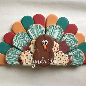 Turkey Platter cookie cutter set