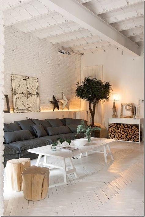 Un loft da sogno con l'Industrial Chic | Design per il ...