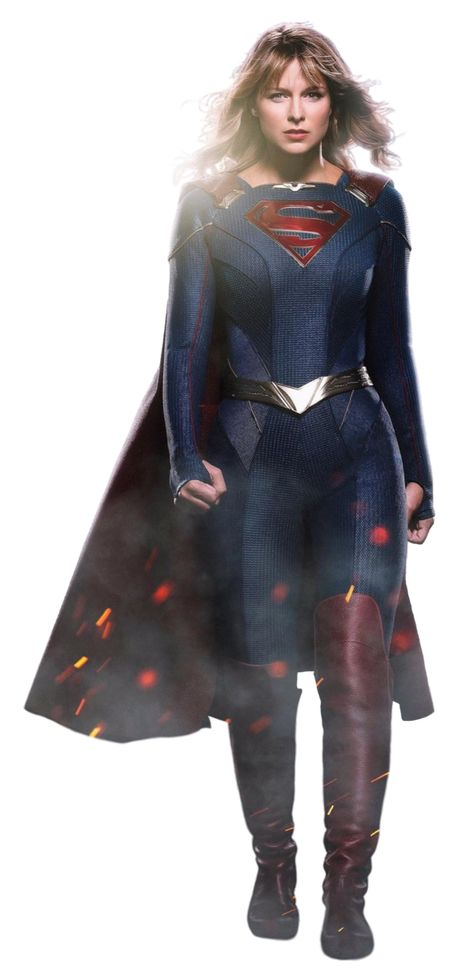 Supergirl: Season 5 - Transparent! by Camo-Flauge on DeviantArt