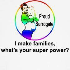 Proud Surrogate Cute Surrogate Present Water Bottle Surrogate Mother Gift Surrogate Mom