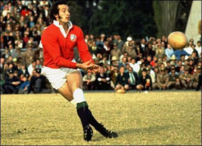 Gareth Edwards- Wales: 1971 and 1974 Lions tours