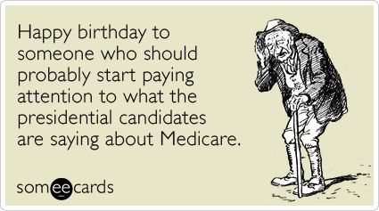Happy birthday to someone who should probably start paying – Presidential Birthday Card