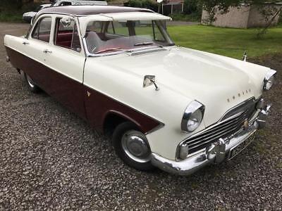 Ebay Ford Zephyr Zodiac 1961 Fully Restored 2 Tone White And