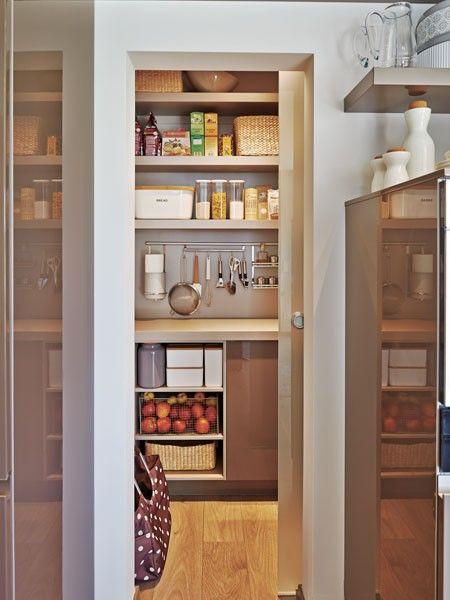 Schiebetür küche speisekammer  Speisekammer hinter Schiebetür | Kitchen | Pinterest ...