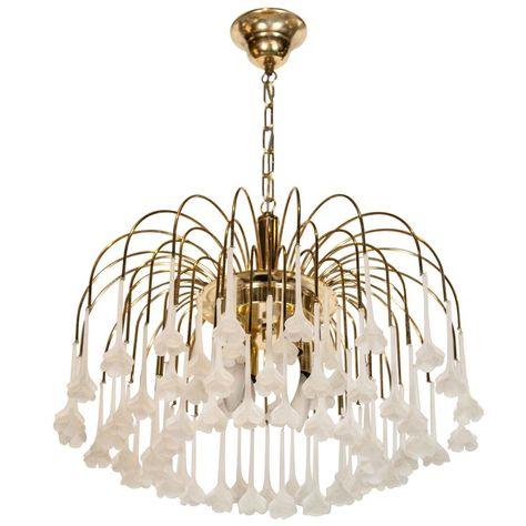 Villa Candle Shape Chandelier Light Metal 12 Lights Colonial Style Black Pendant Lamp