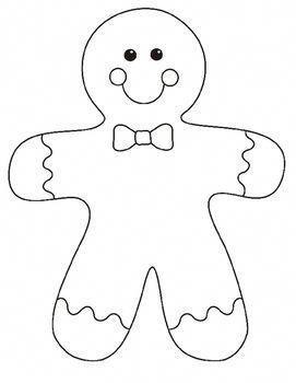 Gingerbread Man Bulletin Board Project #navidadchristmas Coloriages Halloween à#Décorations de #Noël