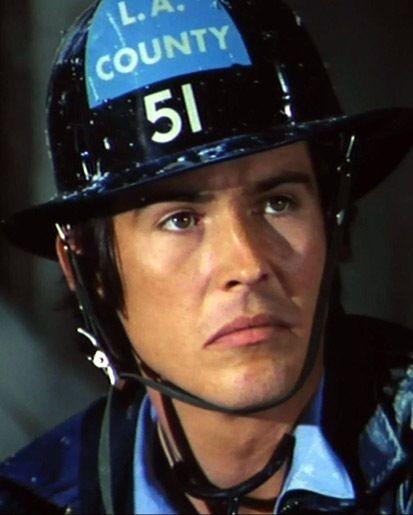 EMERGENCY! TV show Randolph Mantooth as Paramedic John Gage 8x10 PHOTO #7333