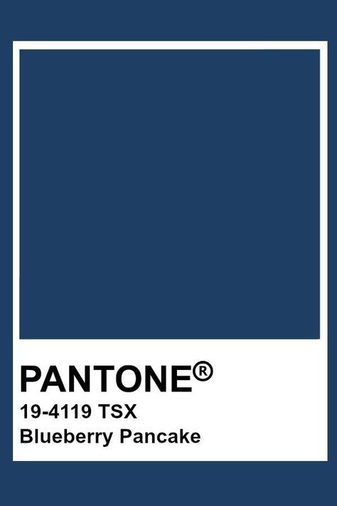 Blueberry Pancake Pantone Color / Wood Tailors Club