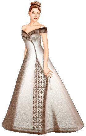 5530 Personalized Wedding Dress Pattern - Bridal Gown, Wedding Dress ...
