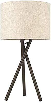 Kira Home Sadie 14 Tripod Table Lamp 60w G9 Bulb Gray Drum Shade Brushed Nickel Finish Mid Century Modern De Drum Shade Tripod Table Lamp Led Floor Lamp