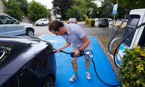 One man and his Tesla: an electric car's journey from Brighton to Edinburgh