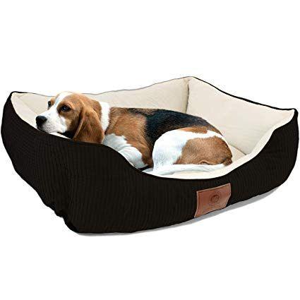 Amazon Com American Kennel Club Small Black Dog Bed Solid Weave Cuddler Akc Pet Cuddler Pet Supplies American Kennel Club Black Dog Beds Small Black Dog