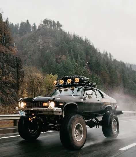 I saw a Camaro in Canada, and I was speechless for another - Auto Design Ideen - cars classic 4x4 Trucks, Custom Trucks, Custom Cars, Ford Trucks, Chevy Nova, Monster Car, Monster Trucks, Bmw Autos, Lifted Cars