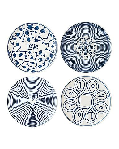 Royal Doulton Bowls 14cm Set of 4 14 Stoneware Teal