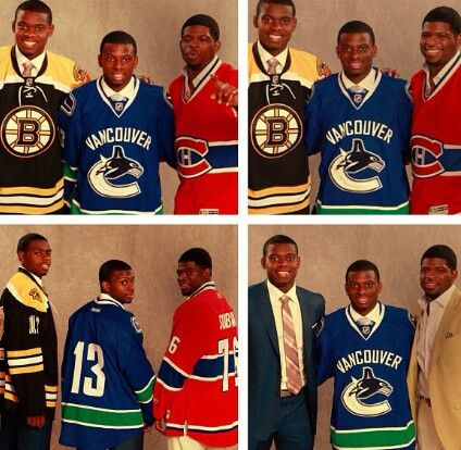 Subban Brothers Malcolm Jordon P K Left To Right All Things
