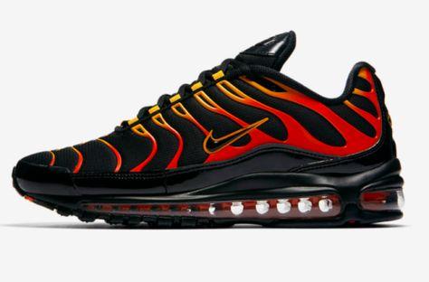 Release Date: Nike Air Max 97 Plus Shock Orange   Nike air