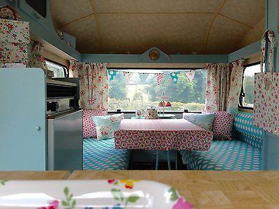 Vintage Caravan Safari Top Avondale Wren Classic Rare Cath Kidston Caravan Home Home Decor