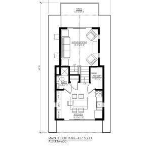 Alberta 600 Robinson Plans Unique Floor Plans House Plans Small Home Plan