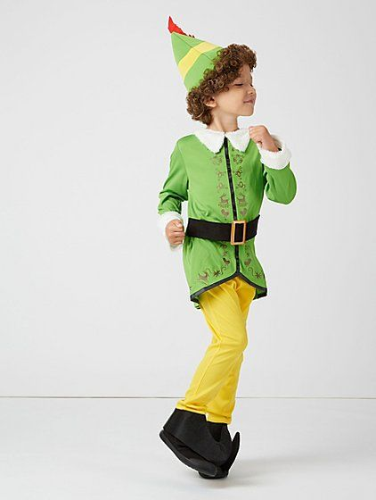 It S A Christmas Classic For A Reason We Love Watching Elf When December Hits And Now Little Ones Can Dress Up Just Elf Fancy Dress Kids Dress Kids Costumes