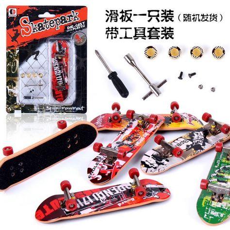 Finger Board Tech Deck Truck Skateboard Boy Kid Children Party Toy Birthday Gift Action Figures