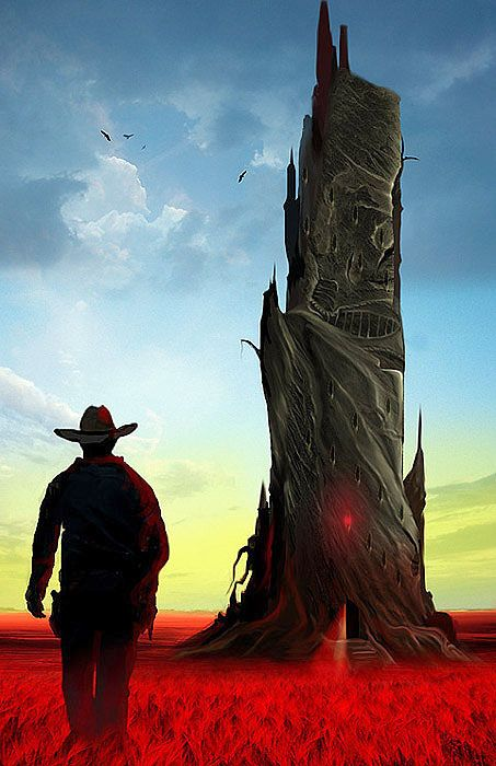 The Dark Tower (I may or may not have named my first born son after the protagonist of this series...)