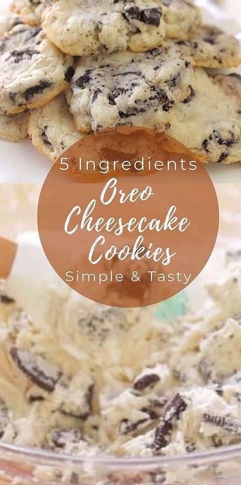 5 Zutaten Oreo Käsekuchen Kekse | Schnelles und einfaches leckeres Keksrezept | Einfach backen | Beinhaltet ein Video-Tutorial #oreocheesecakecookies #oreocheesecakecookieseasy #oreocheesecakecookiesrecipe #Backen #Cheesecake #cheesecake cookies and cream #cheesecake cookies christmas #cheesecake cookies easy #cheesecake cookies keto #cheesecake cookies recipes easy #Cookies #Einfach #Oreo