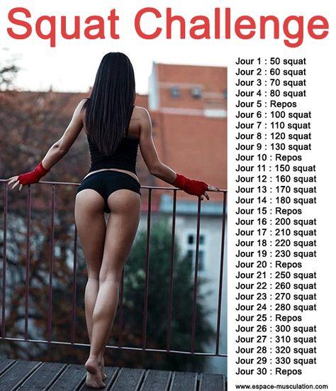 Le Squat : Exercice pour Muscler les Cuisses et les Fessiers