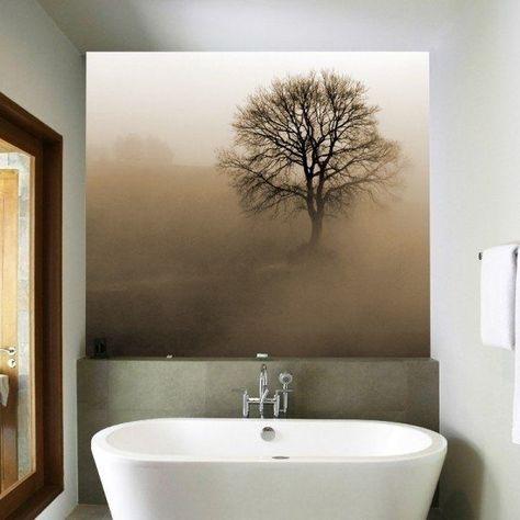 Badezimmer Ohne Fliesen Ideen Fur Fliesenfreie Wandgestaltung