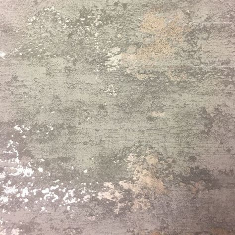 Topchic Wallpaper Concrete Style Grey And Gold In 2020 Concrete Wallpaper Brick Wallpaper Grey And Gold Wallpaper