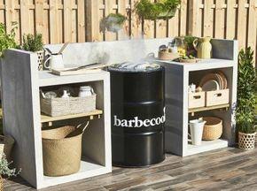 Diy Construire Un Espace Barbecue Leroy Merlin Barbecue En 2019