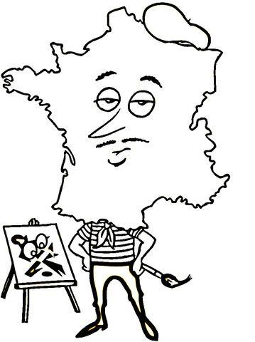 Resultado De Imagen De Dibujos De Francia Para Niños Dibujos De Francia Francia Imagenes De Simbolos