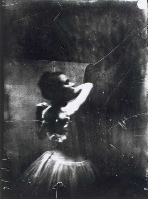Edgar Degas, 'Dancer Adjusting her Shoulder Strap', c. 1895-6, modern print from gelatin dry plate negative.