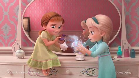 "Tommy Herrick on Instagram: ""#disney #frozen #frozenfever #olafsfrozenadventure #frozen2 #anna #princessanna #elsa #princesselsa #elsanna"""